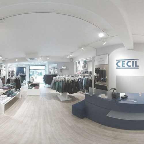 Cecil Store in der Kastelburg City in Waldkirch